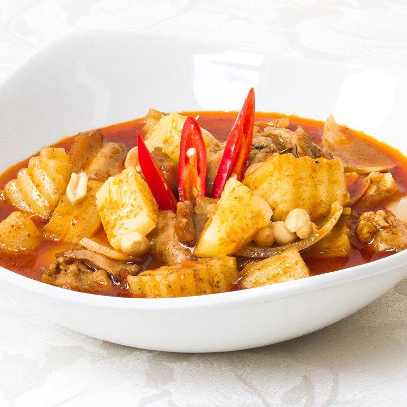 Massaman Curry (Gaeng Mussaman Gai - มัสหมั่น)
