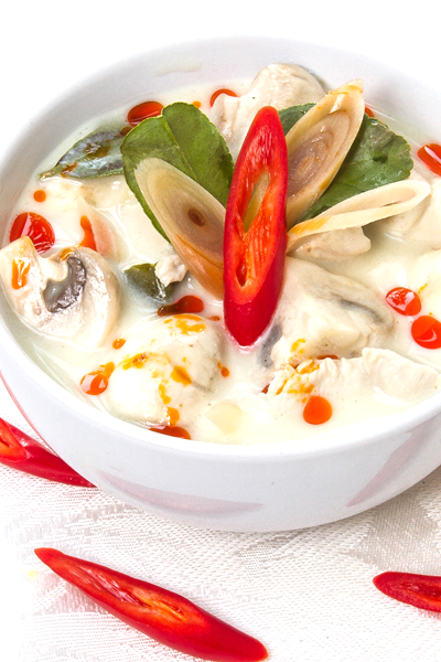 thai kitchen in lakeland tom kha gai