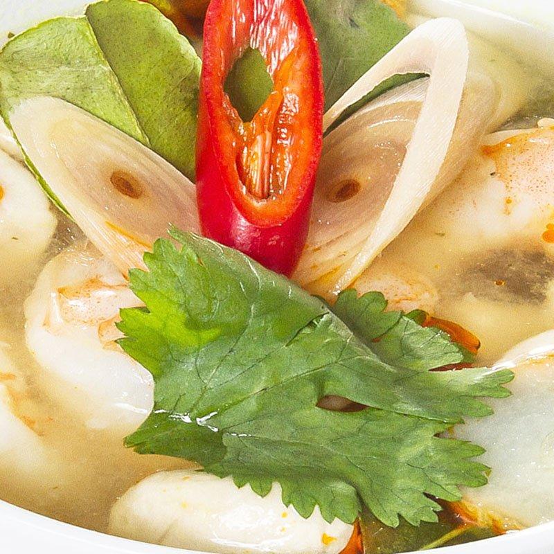 Tom Yum Khung (Spicy Thai Soup)