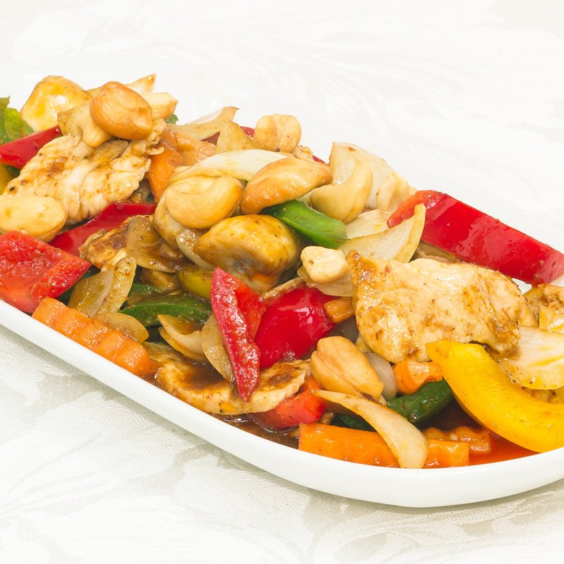 Chicken and Cashew Nuts (Gai Phat Pet Mamuang - ไก่หิม)