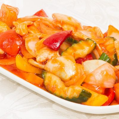 Sweet and Sour Chicken (Phad Priaw Waan - ผัดเปรี้ยวหวาน)