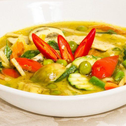 Thai Green Curry (Gaeng Keow Waan - แกงเขียวหวาน)