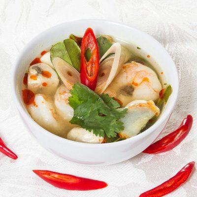 Tom Yum Soup (ต้มยำกุ้ง)