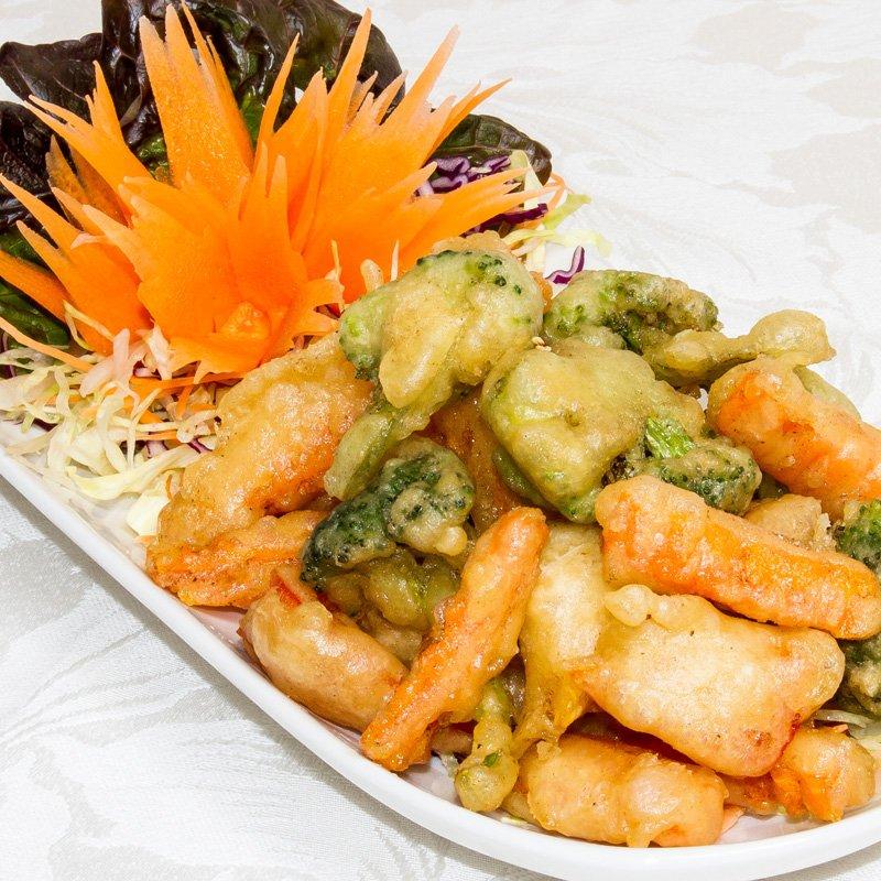 Vegetable Tempura (Pàk Súp Pang Tôt ) ผักซุปเเปังทอด