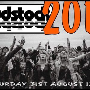 promotional poster for Fudstock music festival barrow cumbria
