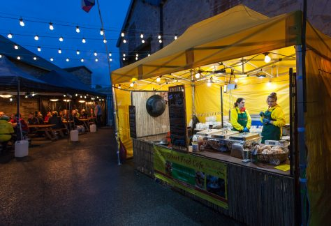 barrel house kendal gazeebo at pub street food event