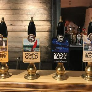 bar pumps at the barrel house in kendal
