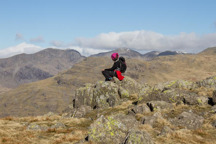 Looking to Scafell from Swirl How